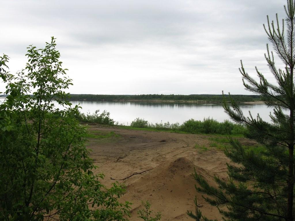 По дороге на Архангельск. Река Двина