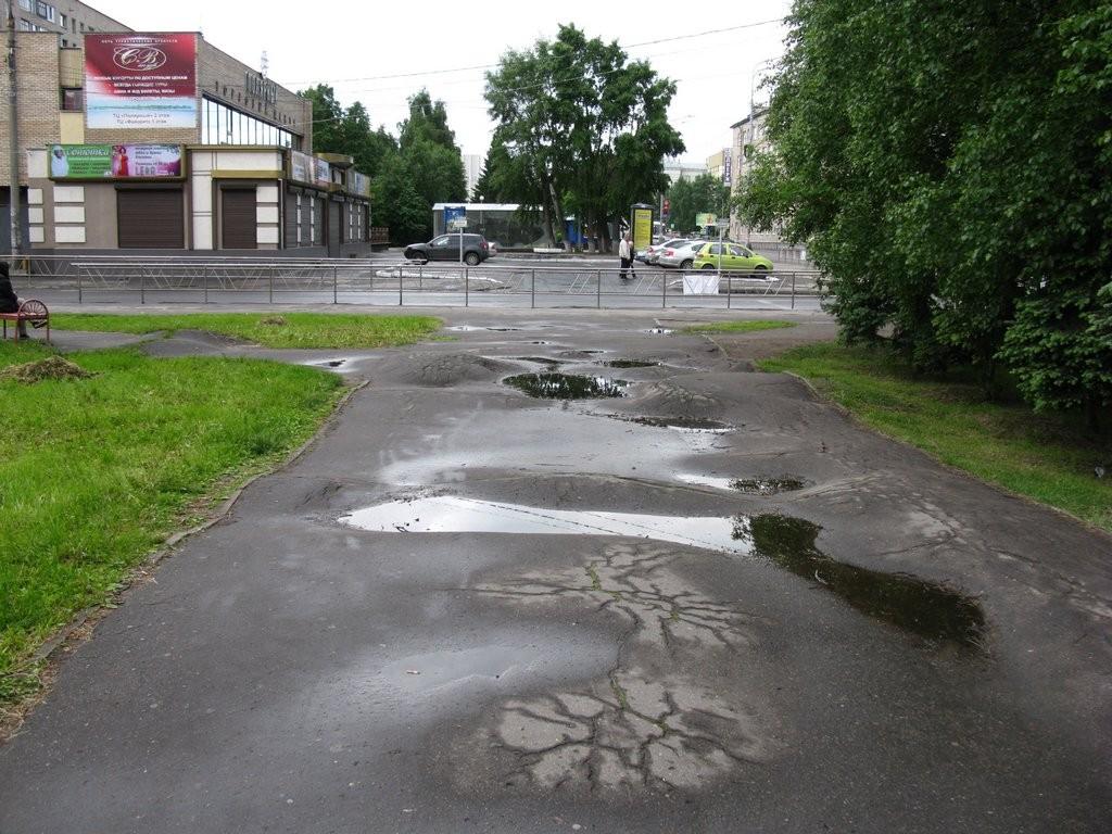 Тротуар в г.Архангельск