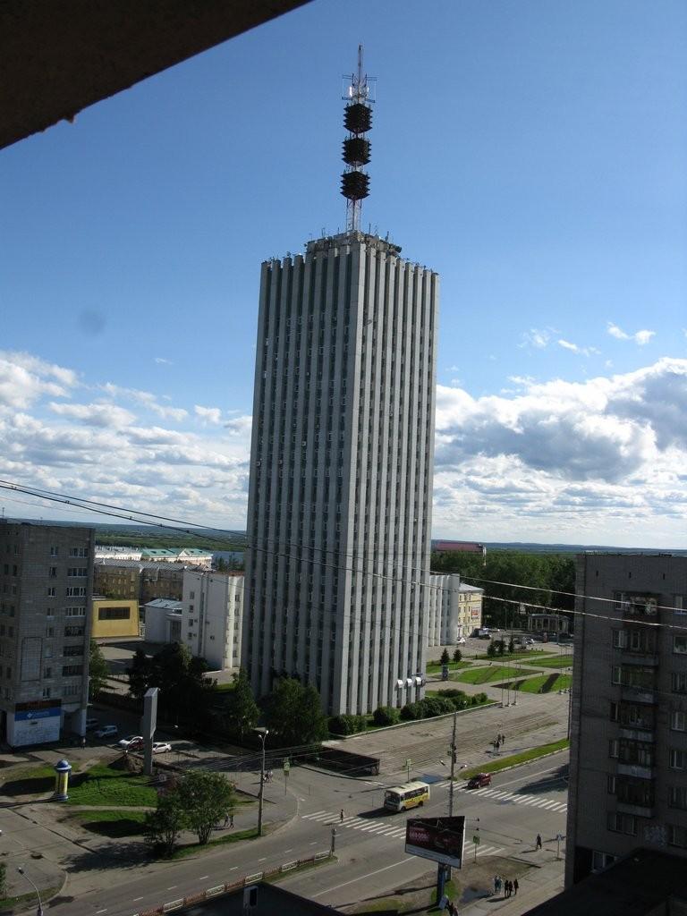 Архангельск. Вид из окна