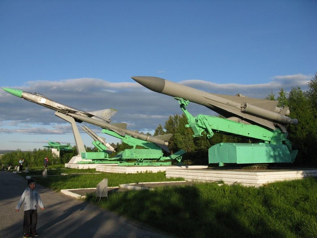Абрам мыс выставка военной техники