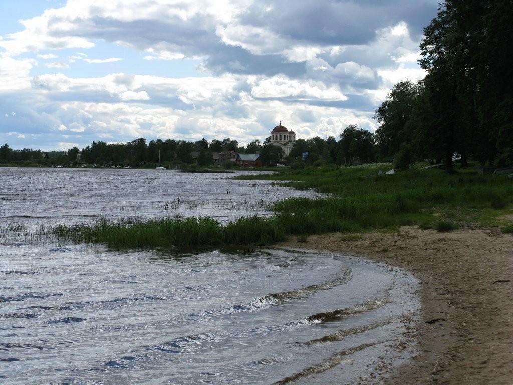берег реки Онеги