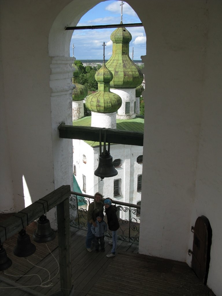 Каргополь на колокольне