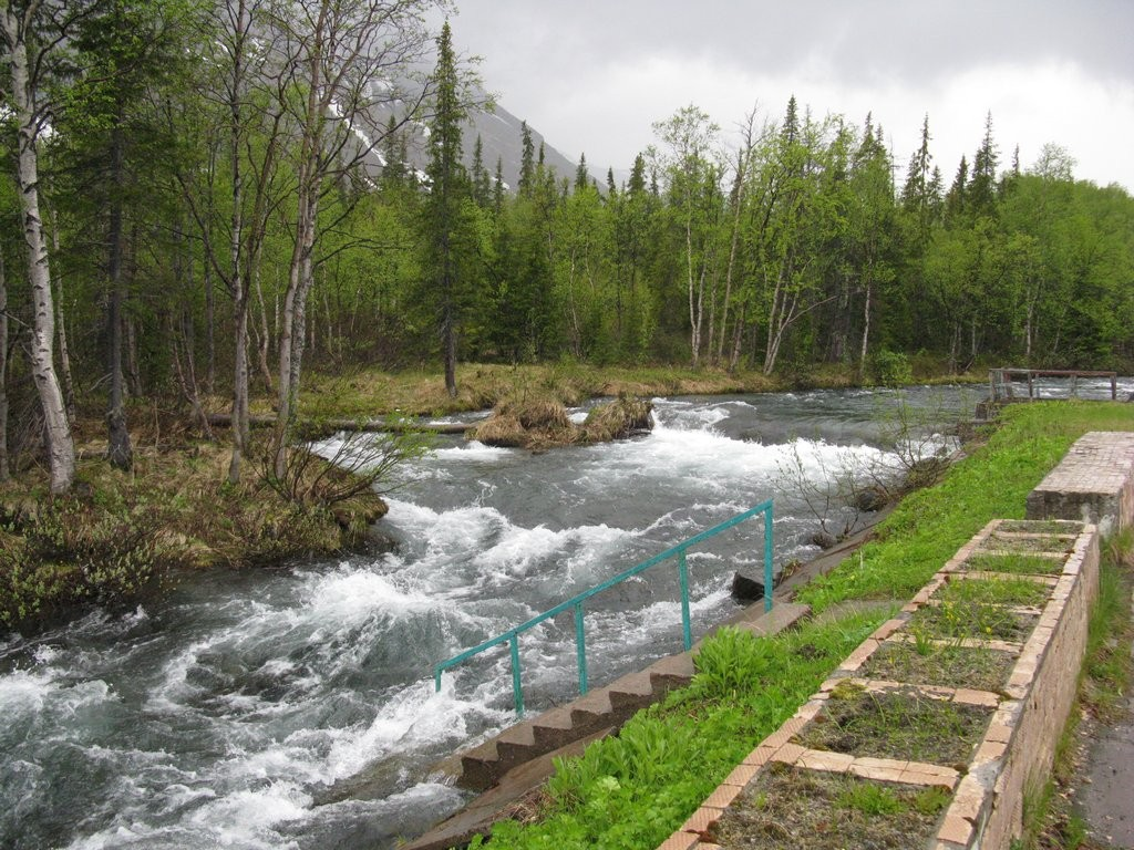 Речка в Хибинах