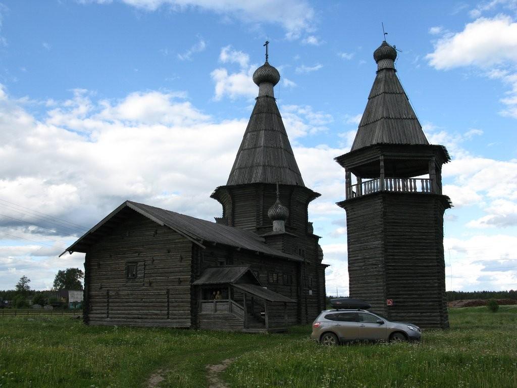 Саунино церковь Иоанна Златоуста