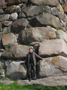 Соловки стены крепости