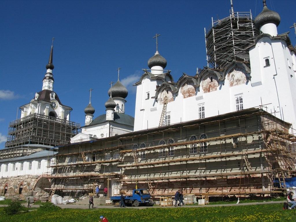 Соловки реставрация кремля