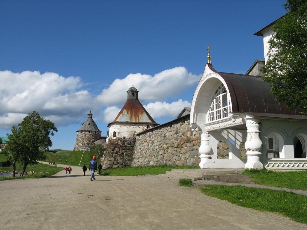 Соловецкий кремль Царские ворота