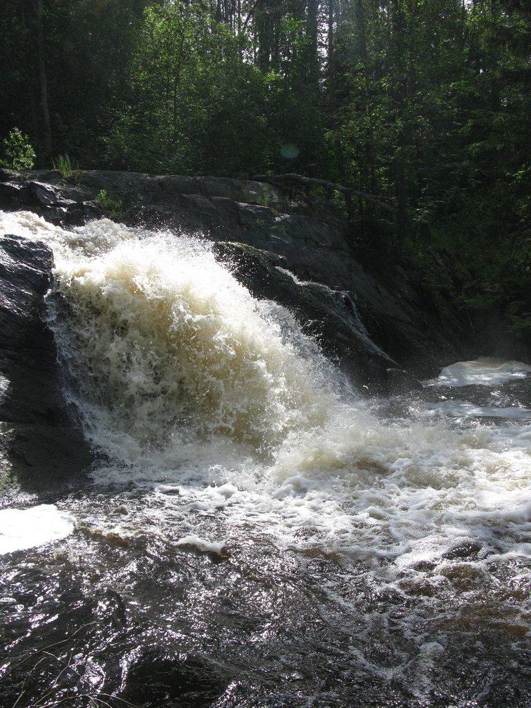 Водопад Собачья канава Койринойя