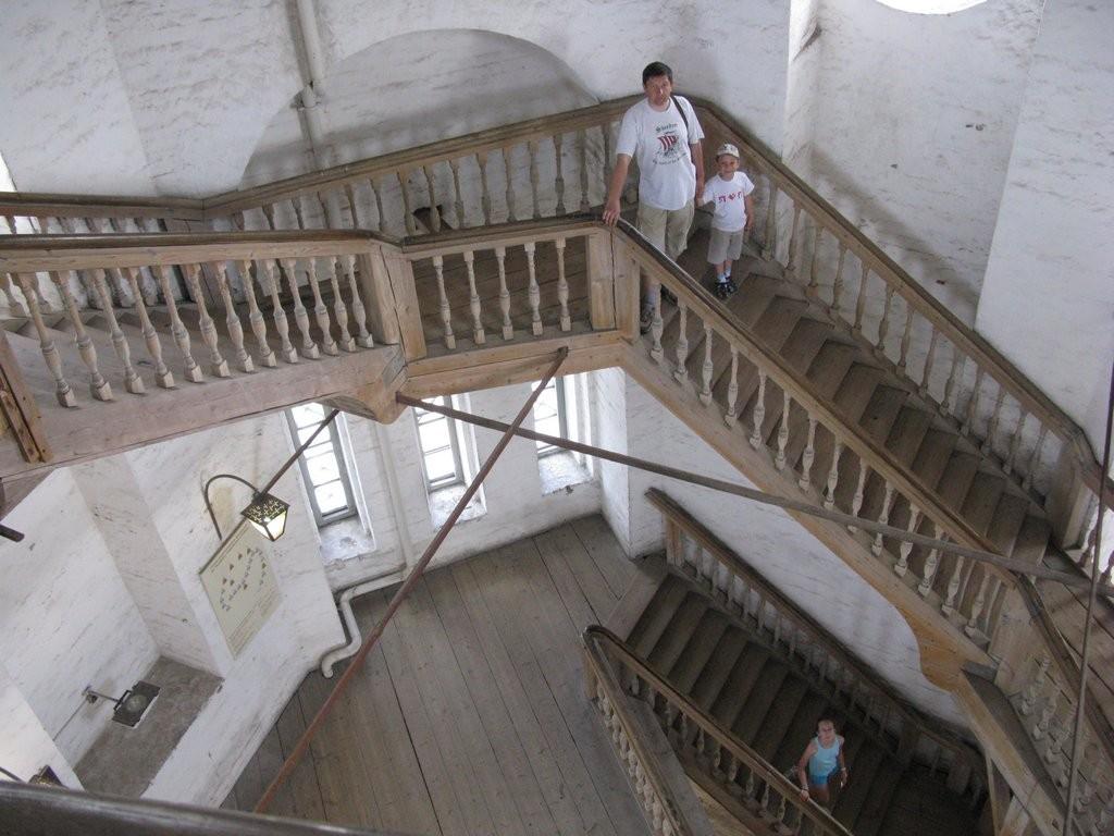 Вологда лестница колокольни