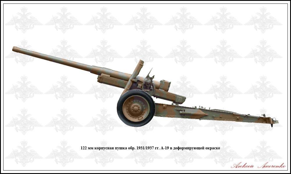 Пушка А-19 образца 1937 года