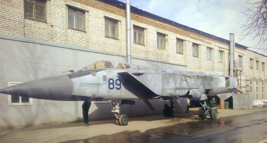 МиГ-31 с авиабазы Сокол