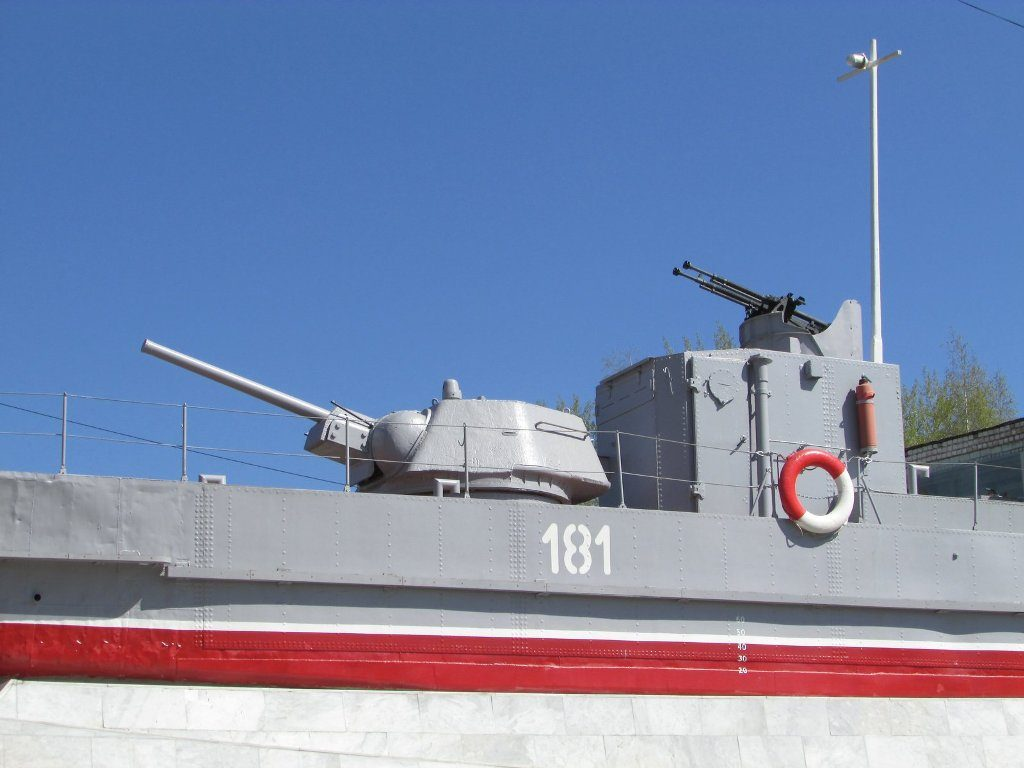 Бронекатер орудийная башня