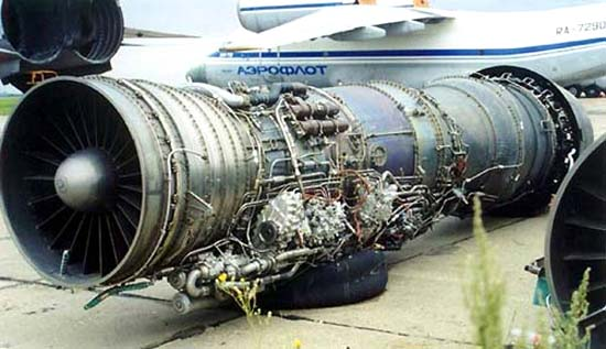 Двигатель Д-30 самолета МиГ-31