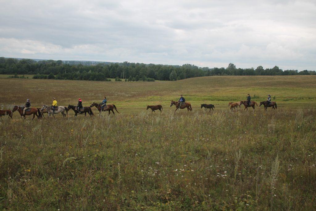 Группа на маршруте