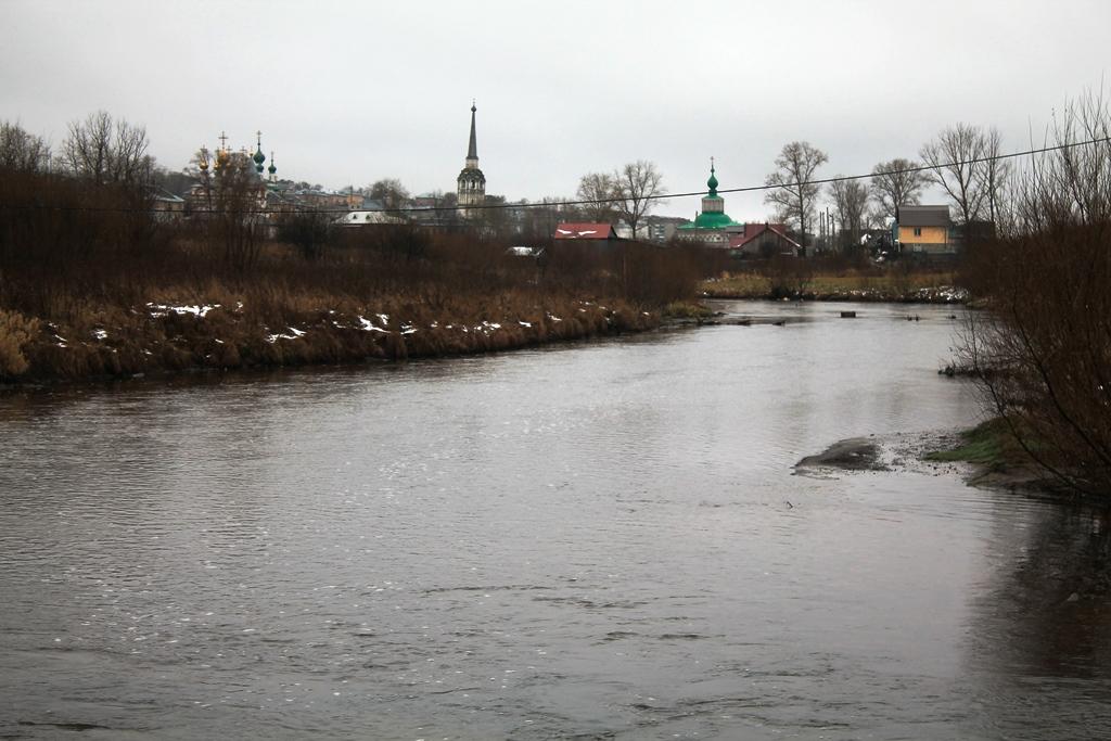 Река Усолка, г.Соликамск