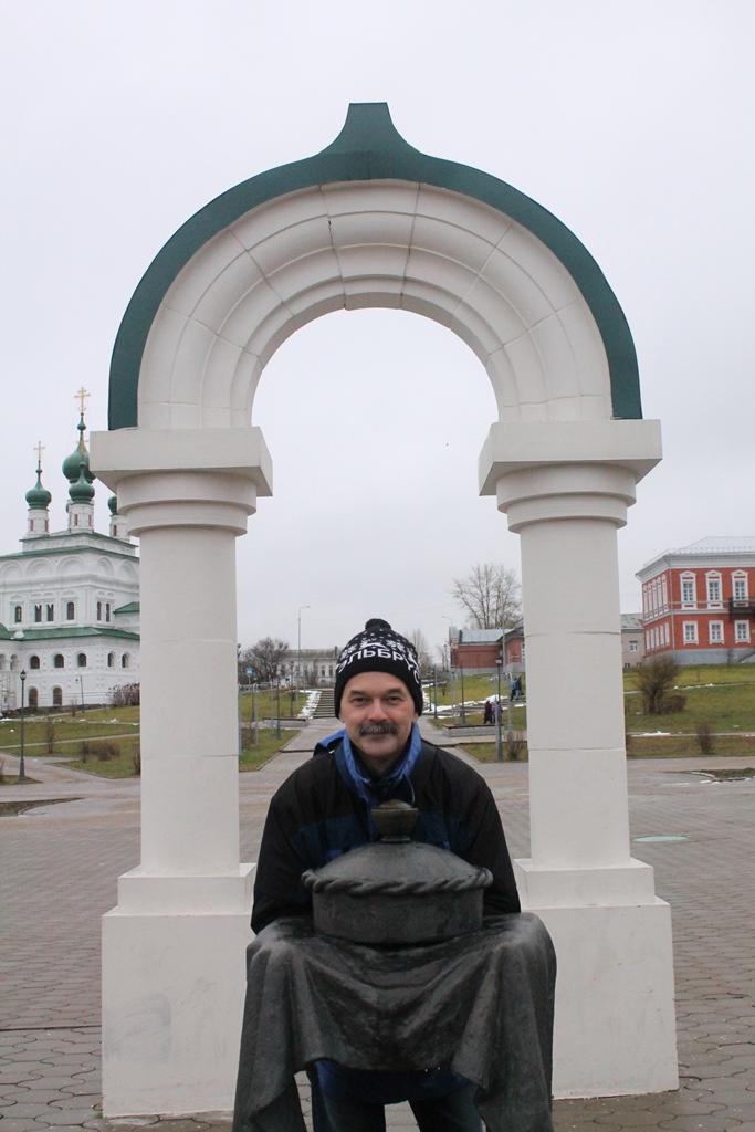 Солонка - памятник соли в Соликамске