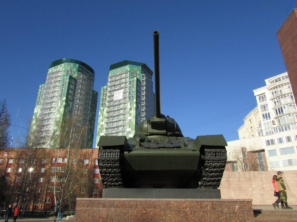 Танк на Сибирской