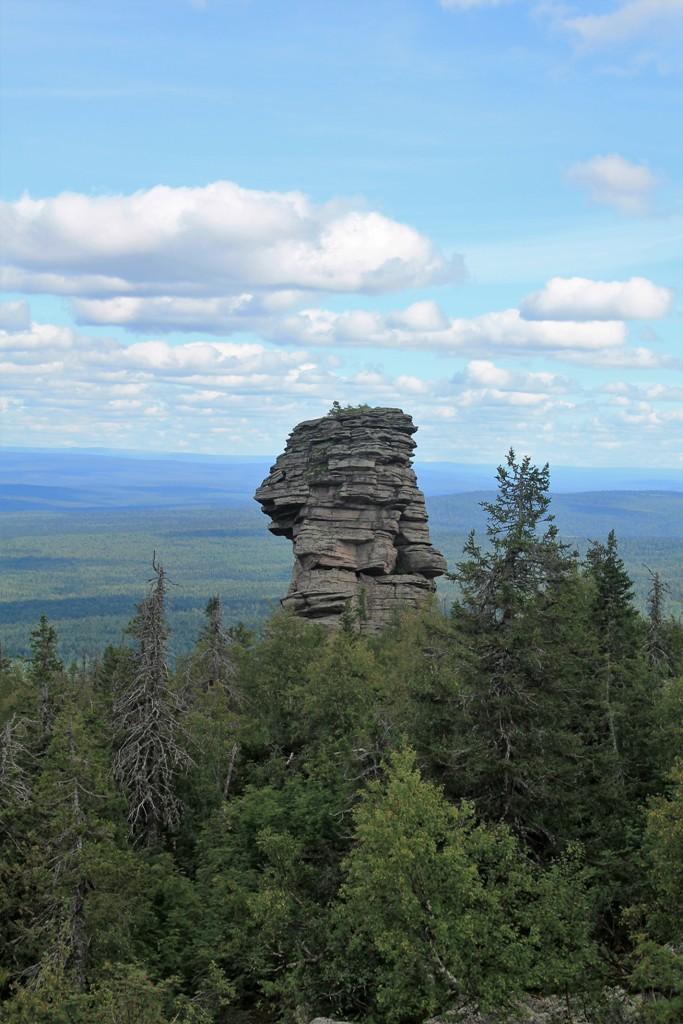 Каменный останец