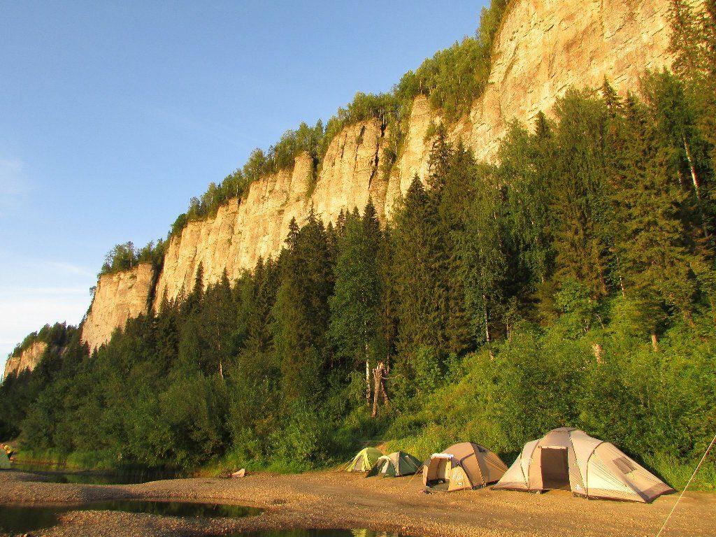 Наш лагерь под Ветланом