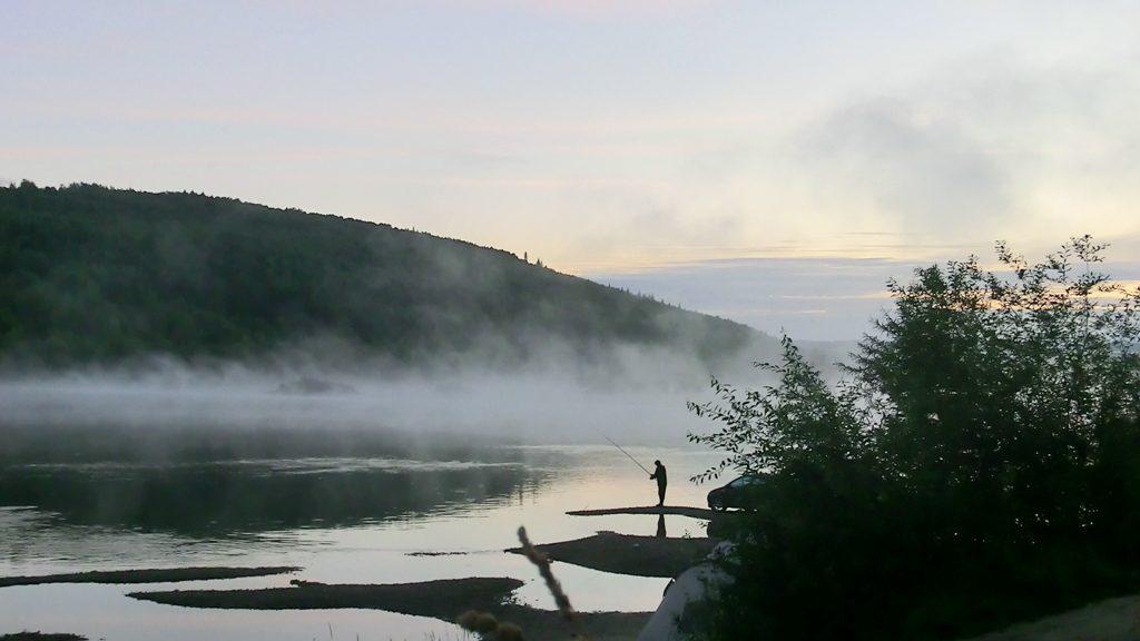 Раннее утро на Вишере
