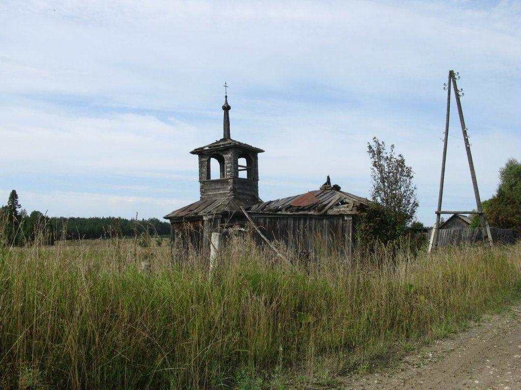 Старая часовня д. Татарское