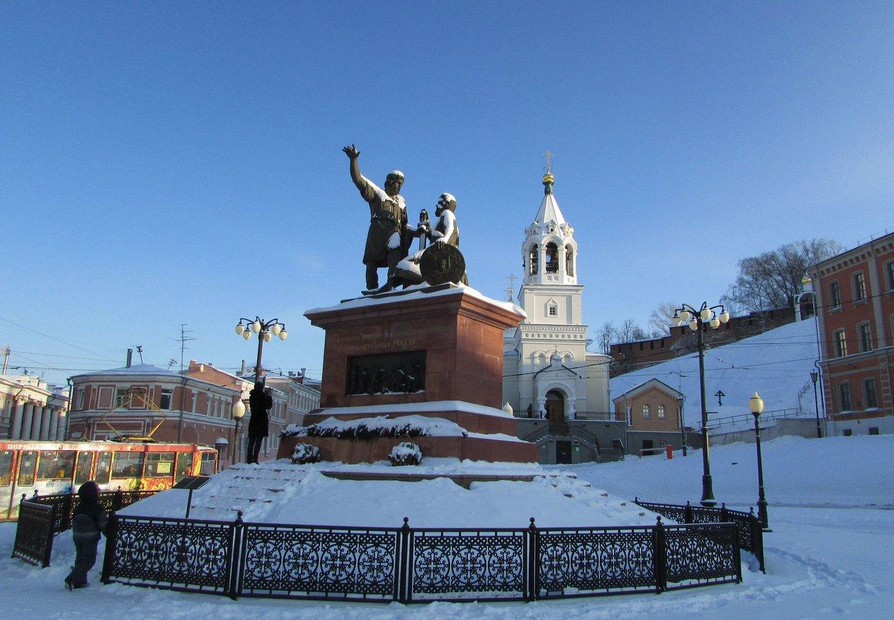 Нижний Новгород: пешеходная экскурсия