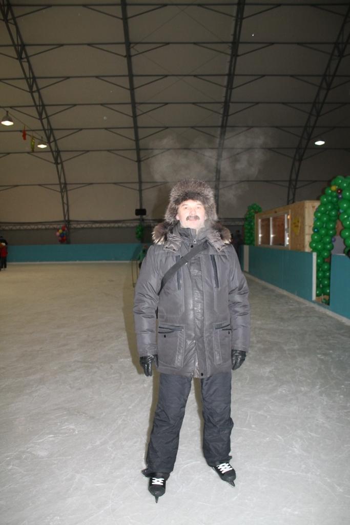 Катаемся на коньках