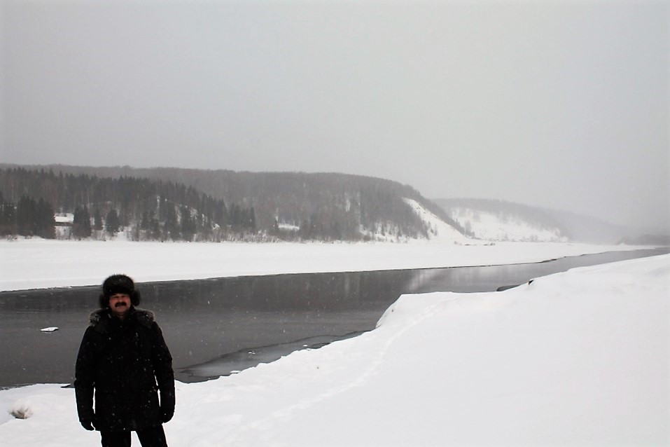 На зимней Вишере