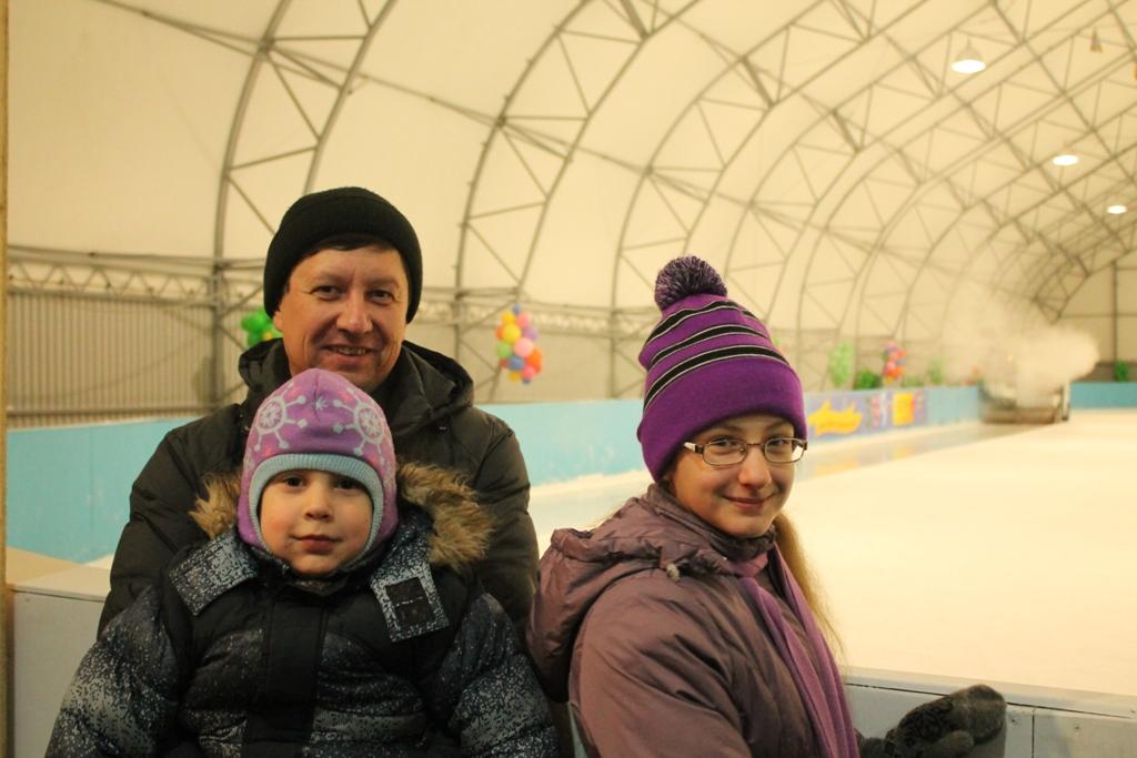 В ожидании выхода на лёд