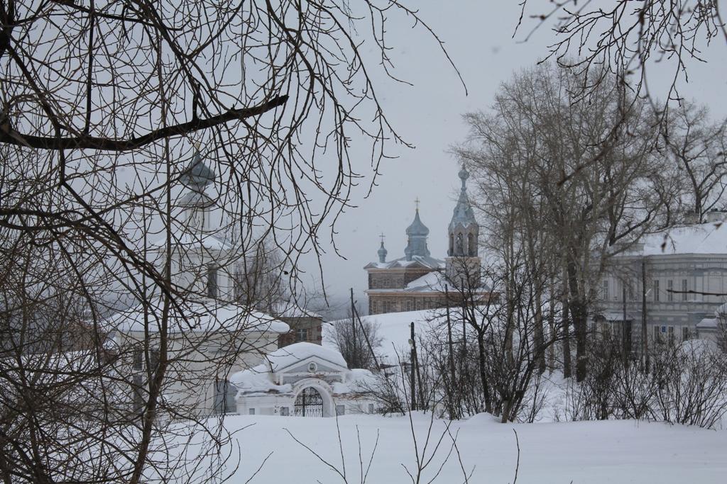 Зимняя Чердынь