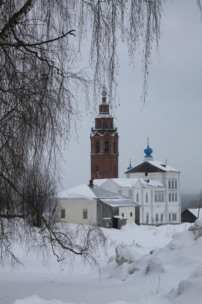 Зимой в Чердыни