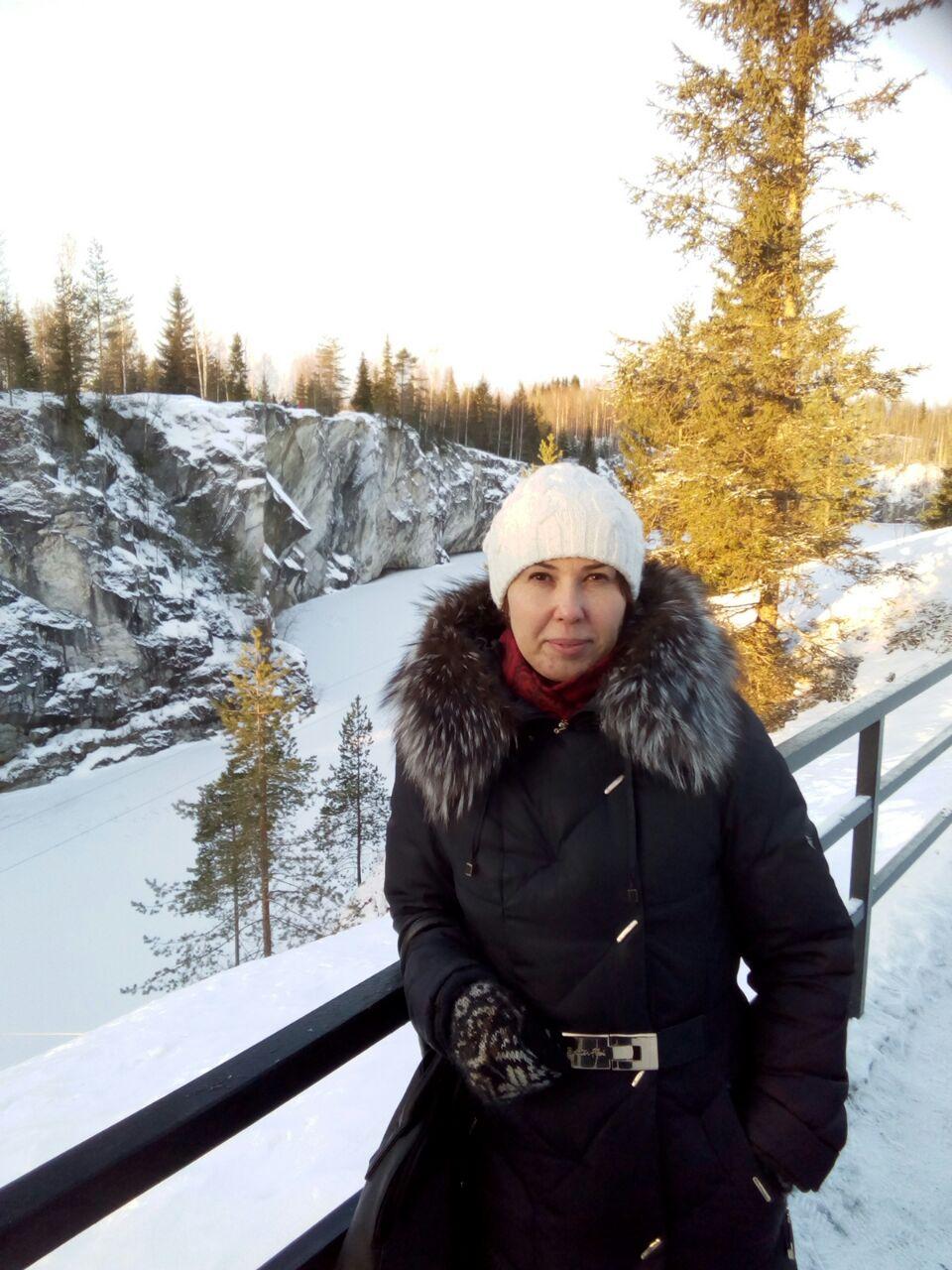 В парке Рускеала