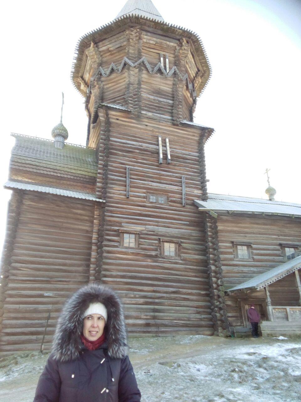 Кондопога. Деревянная церковь