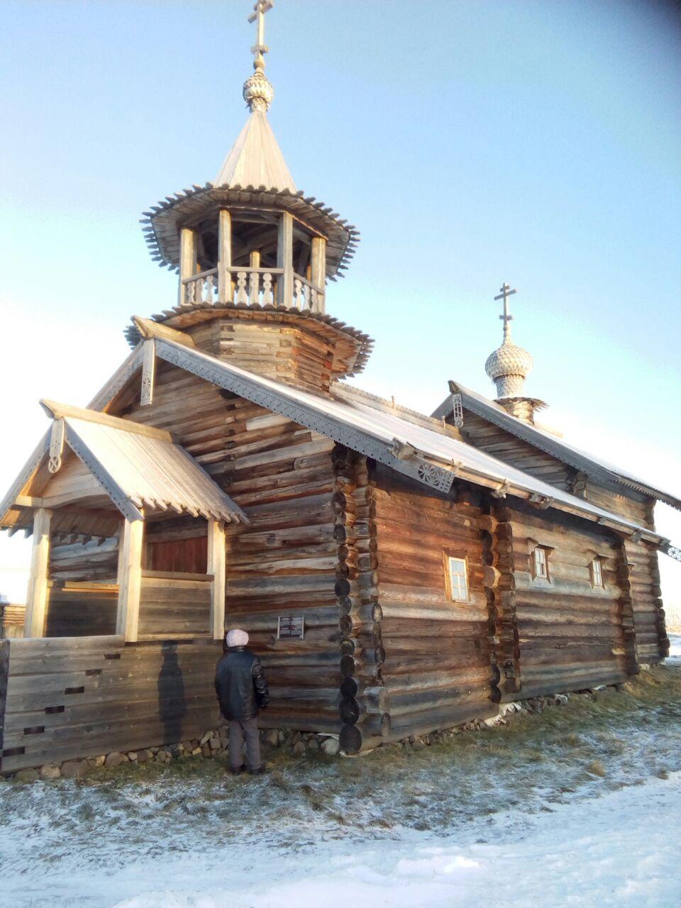 Церковь в Кижах