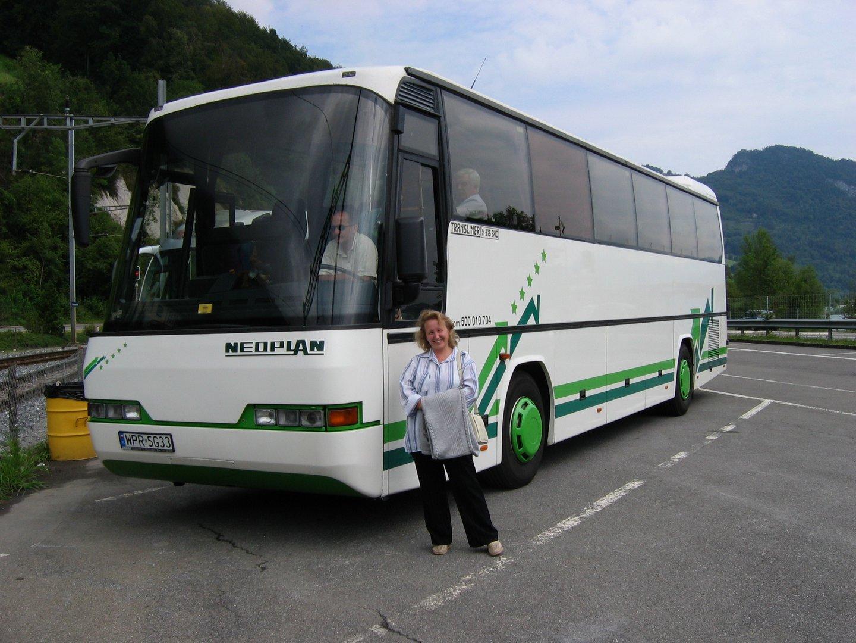 В автобусном путешествии