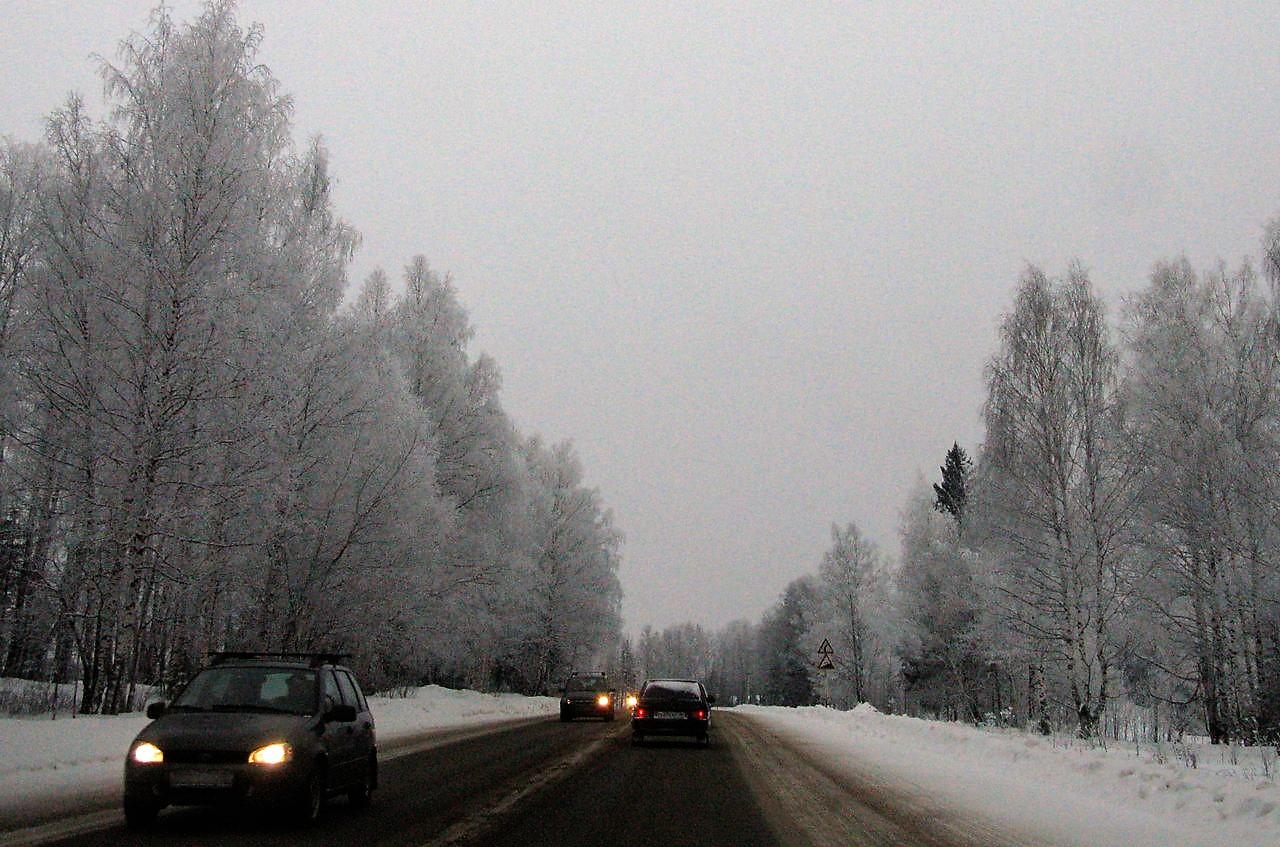 Зимнее автопутешествие