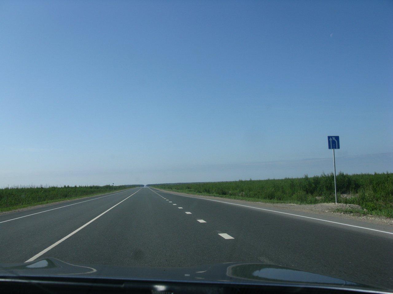 Трасса Йошкар-Ола - Чебоксары