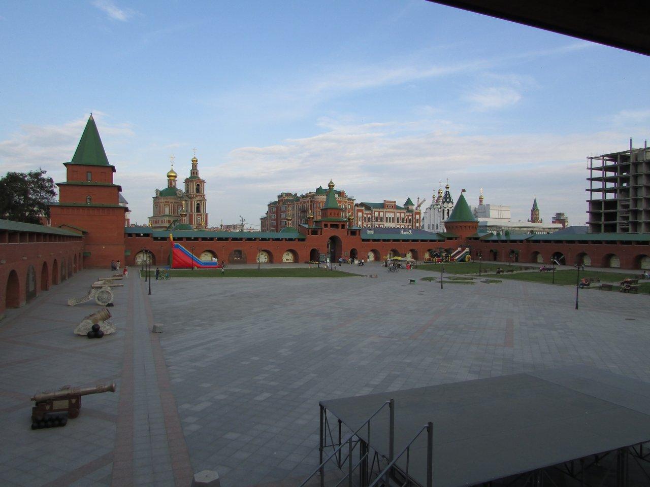 Царево-Кокшайский кремль