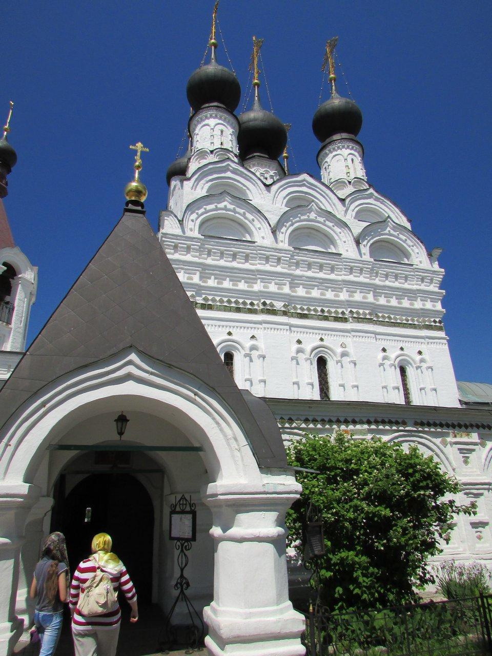 Соборный храм Свято-Троицкого монастыря