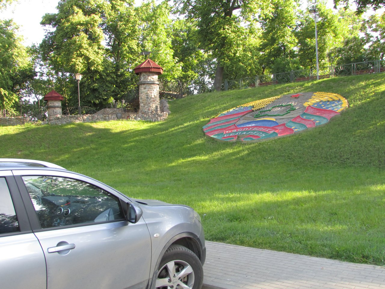 Путешествие на автомобиле по Беларуси