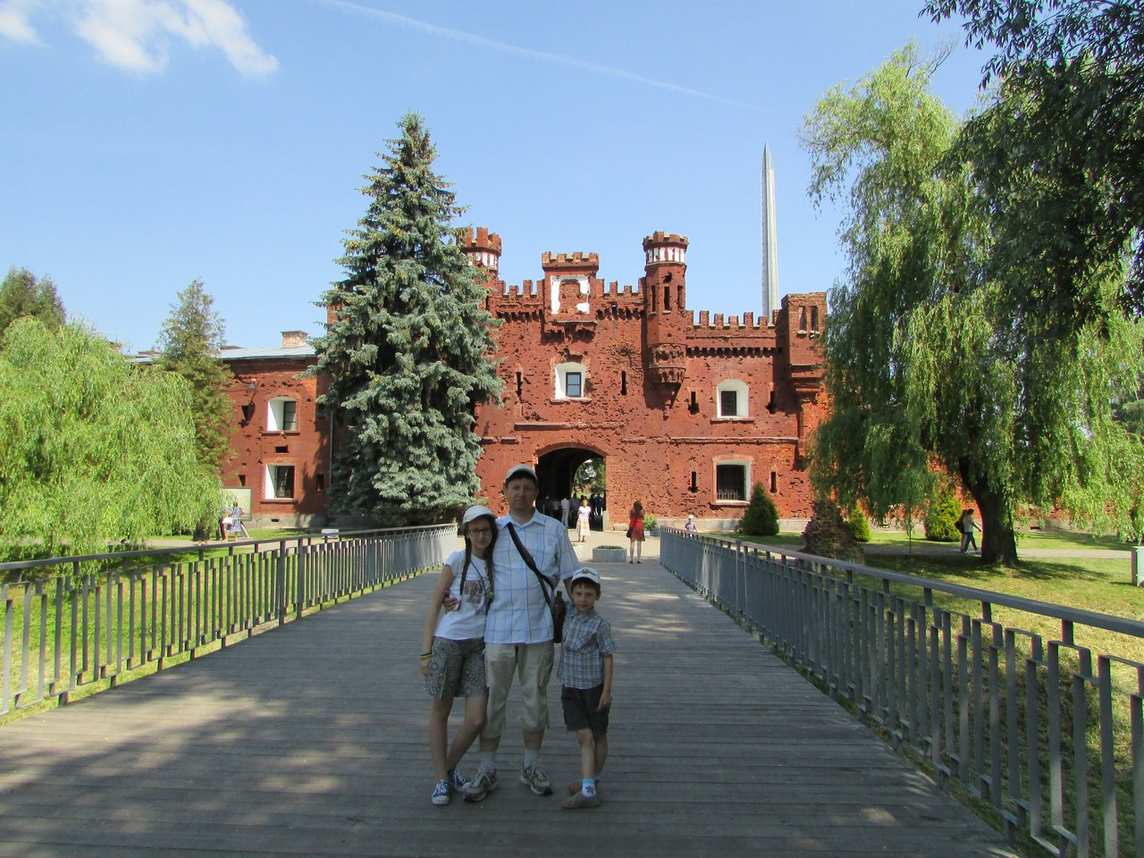 Холмские ворота Брестской крепости