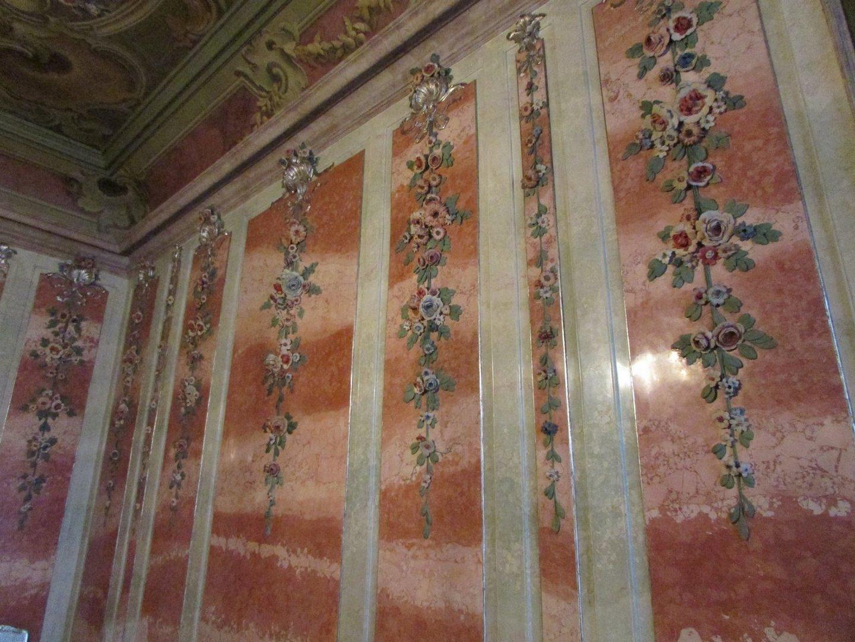 Лепной декор Розового зала