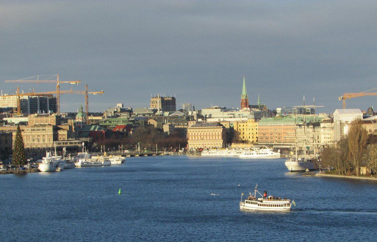 Зимний Стокгольм