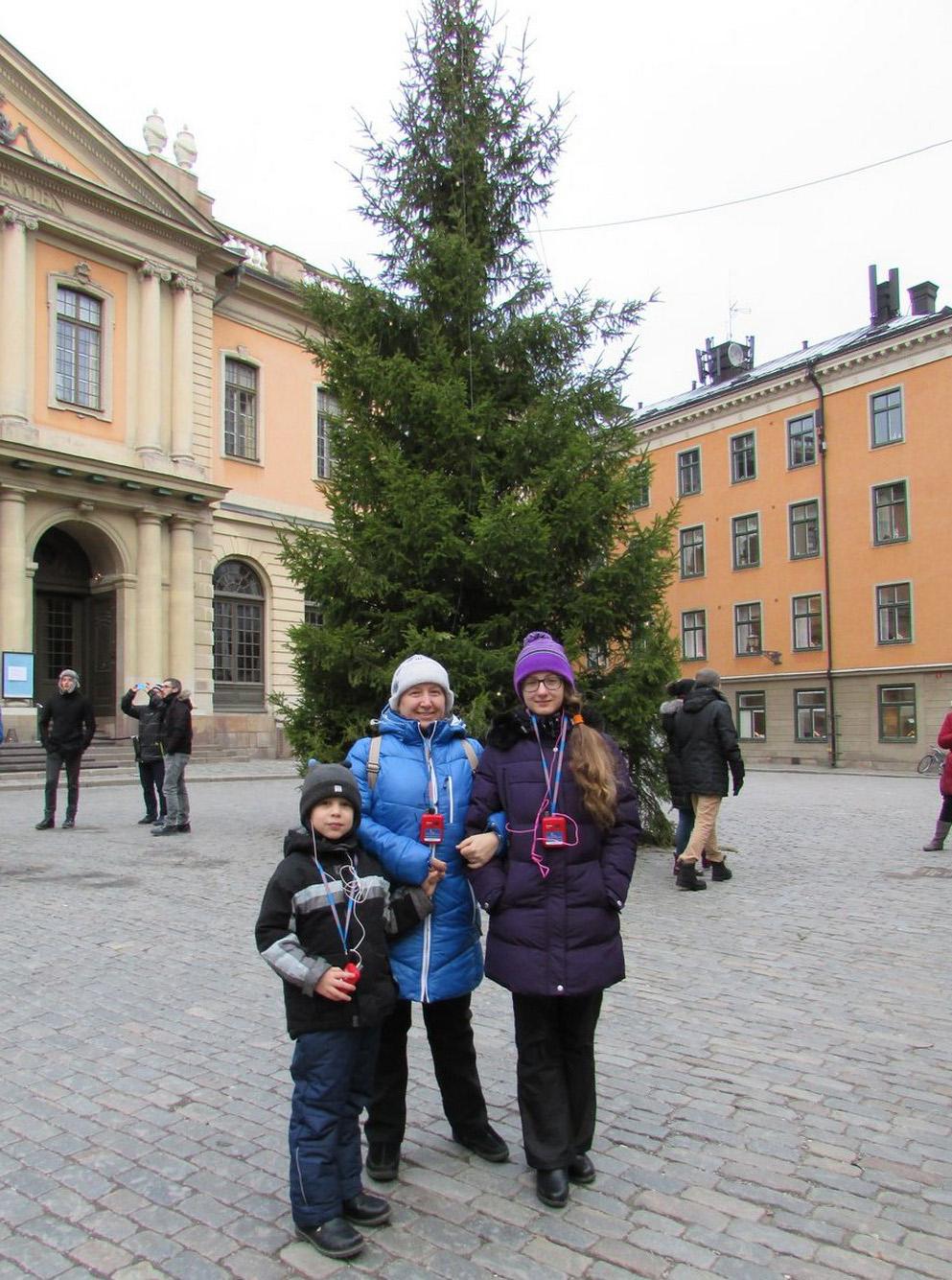 Главная елка Стокгольма