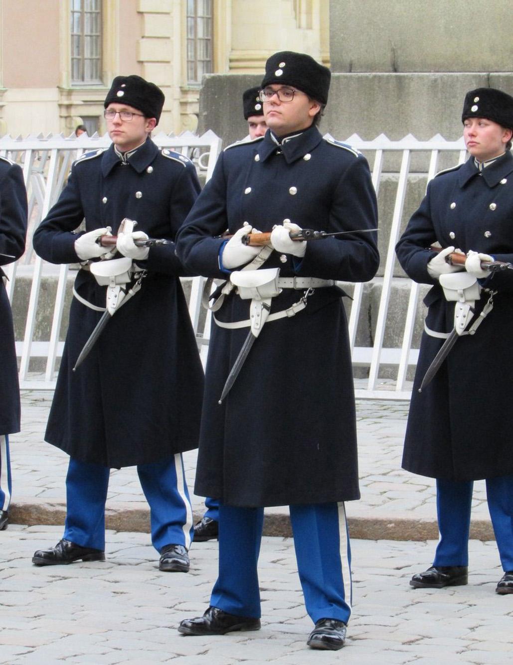 Бравые шведские солдаты