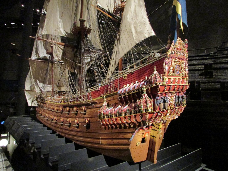 """Модель корабля """"Васа"""""""
