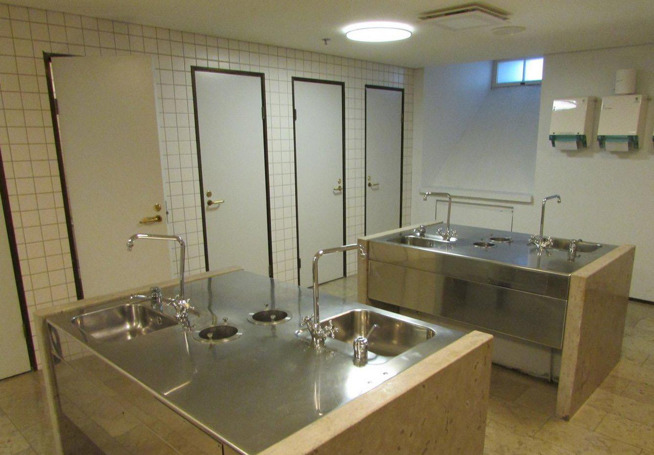 Туалет в мэрии