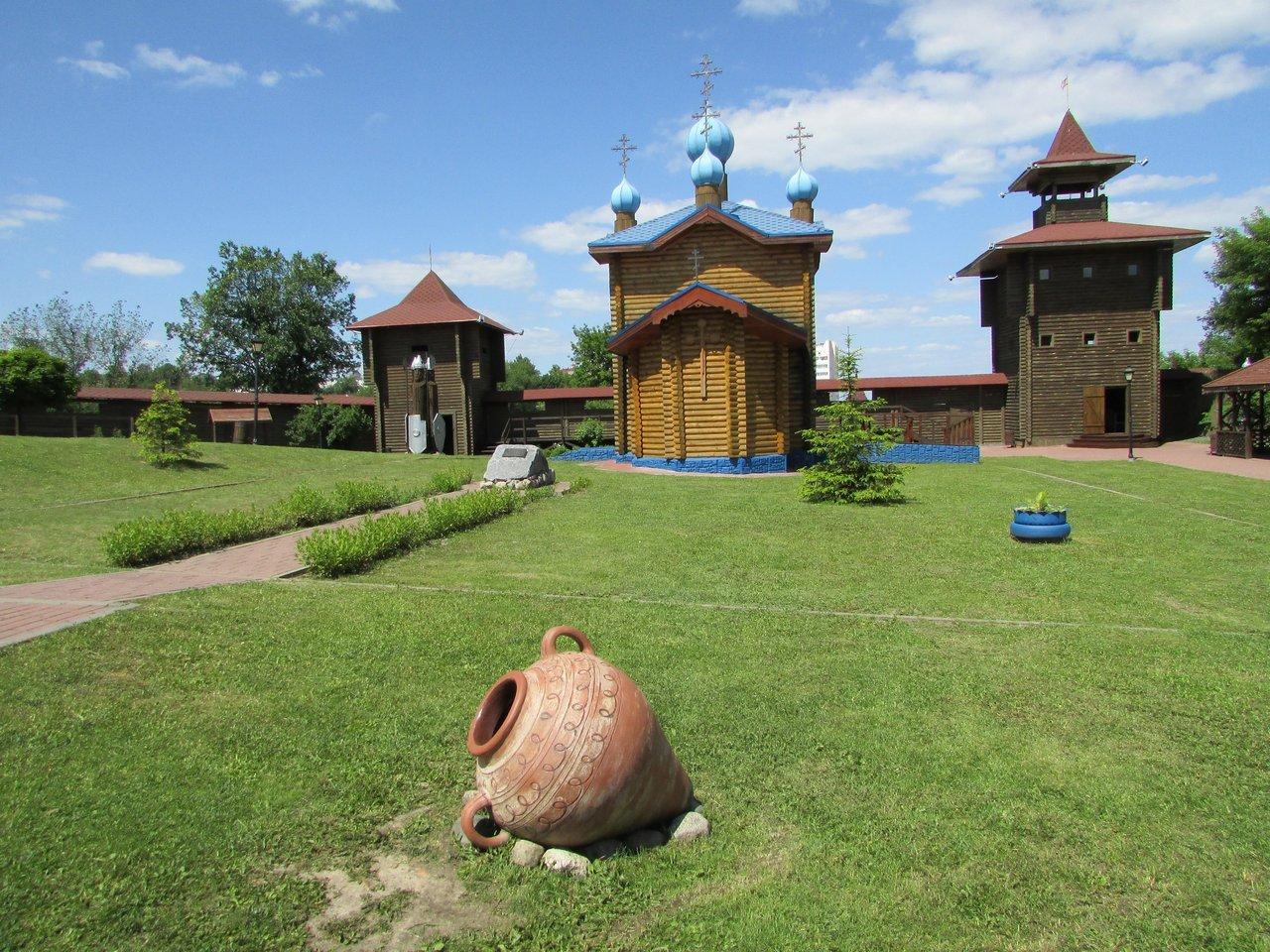 В Мозырском замке