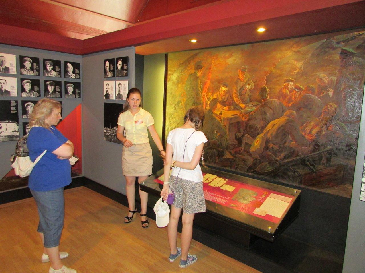 В залах музея обороны Брестской крепости