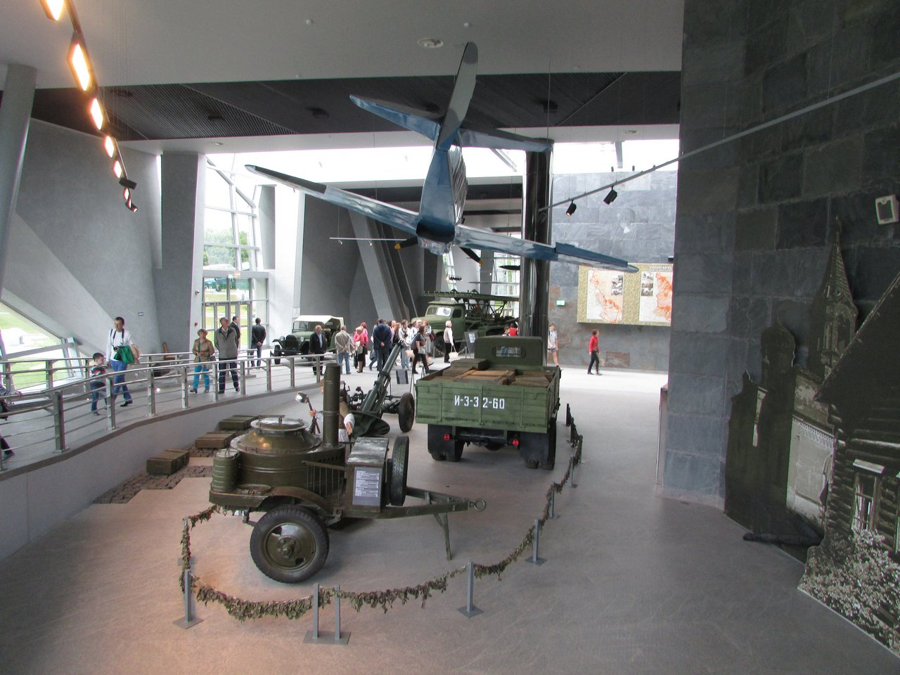 В залах музея Великой Отечественной войны